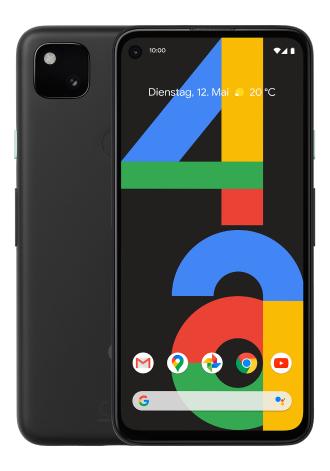 Google Pixel 4a 128 GB LTE Just Black im Vodafone crash Allnet Flat 7 GB LTE für 14,99€ monatlich und 99€ einmalig + 50€ RNM