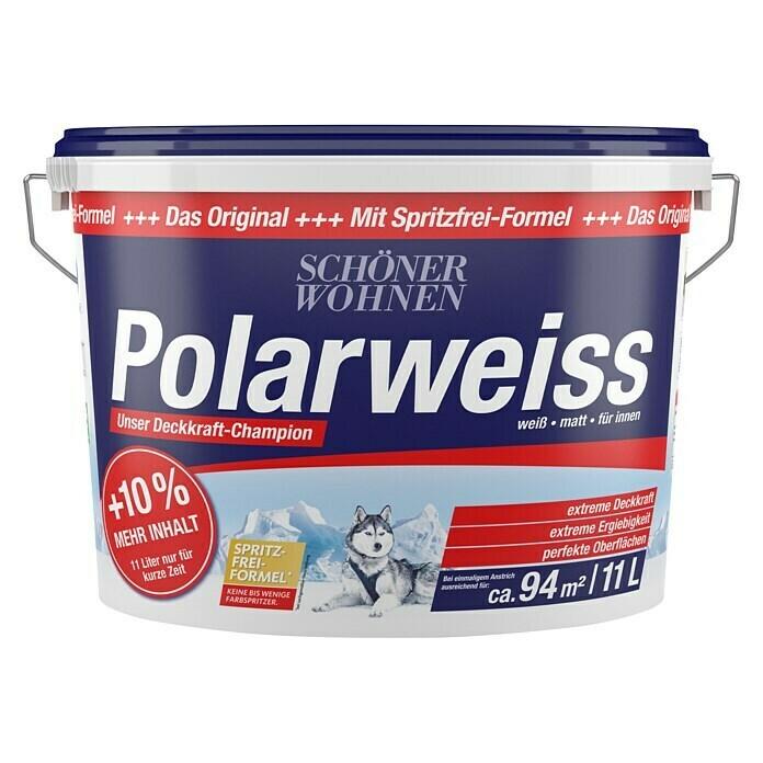 Schöner Wohnen Wandfarbe Polarweiss 11 l mit Bauhaus TPG