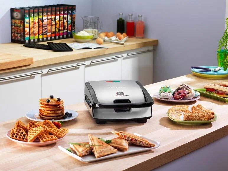 [ Lidl.de ] Tefal - Snack Collection SW857D / Waffeln, Sandwiches, Paninis und mehr mit einem Gerät