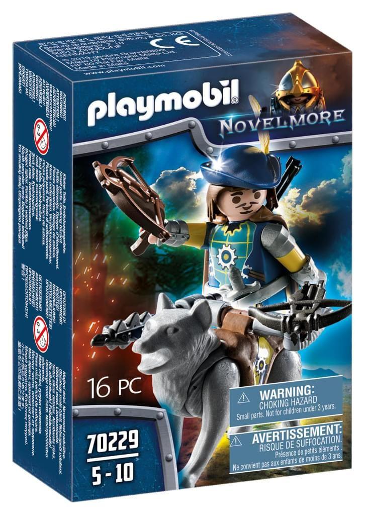 Playmobil Novelmore 70229 Armbrustschütze mit Wolf