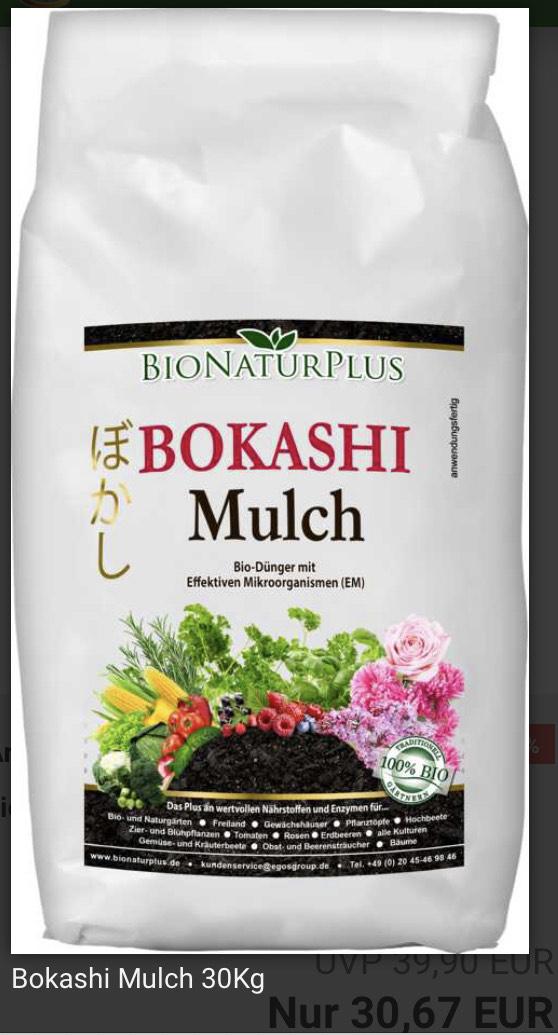 Bokashi Mulch 30Kg