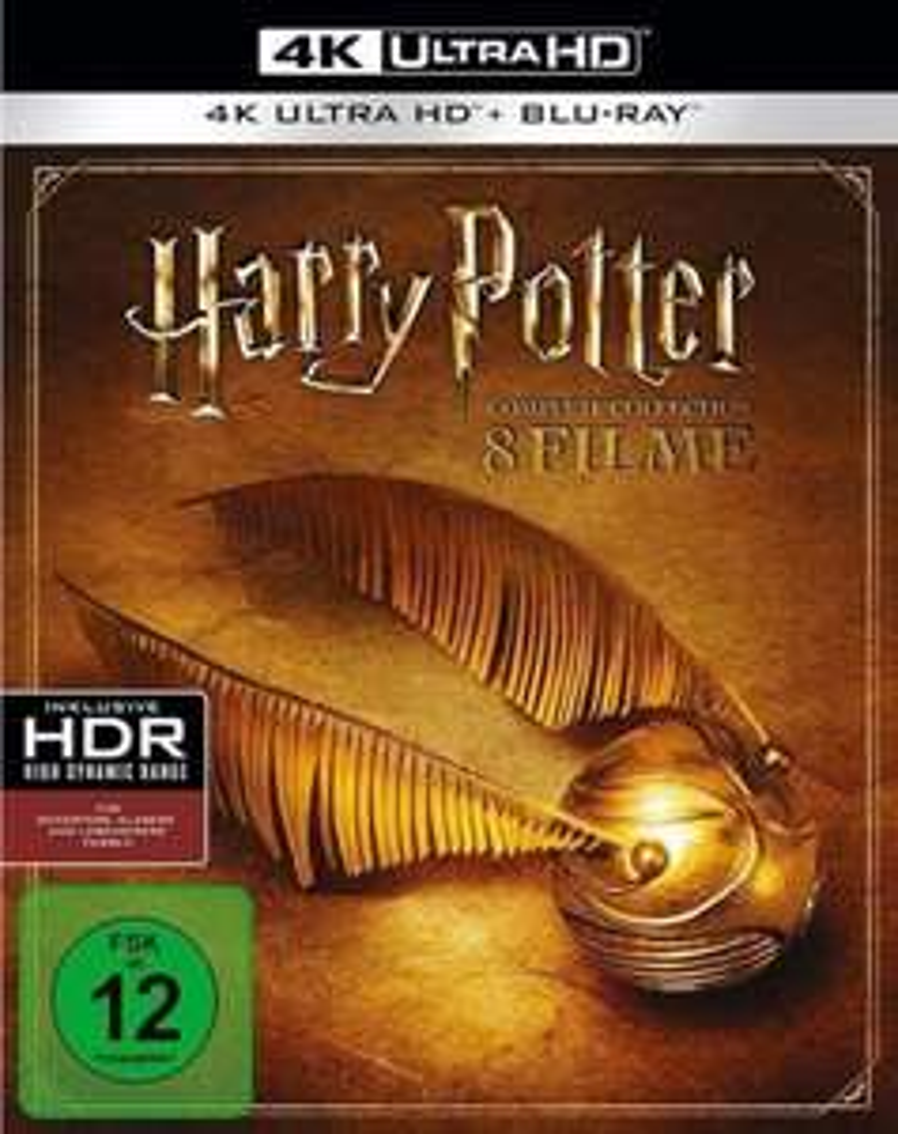 Harry Potter The Complete Collection 4K UHD Deutsche Version
