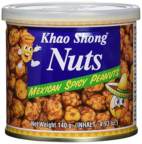 Amazon Prime: Khao Shong Erdnüsse im Teigmantel , 140 Gramm Dose , Mexican Style - pikant gewürzt!
