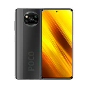 POCO X3 NFC 6+64GB | 120 Hz DotDisplay, Snapdragon 732G, 64 MP Quad-Kamera, 5.160 mAh Akku, 33 W Fast-Charge