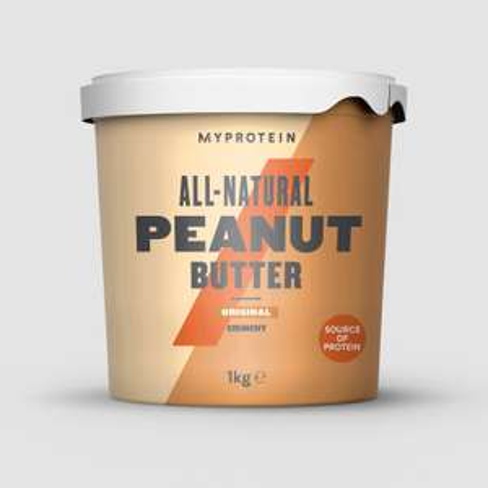 [iGraal] MyProtein Erdnussbutter 3x1kg, 4,99/kg möglich durch Rabatt+Cashback für eff. 14,98€