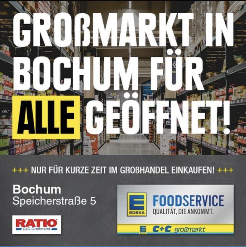 Edeka Grossmarkt Bochum für Privatpersonen