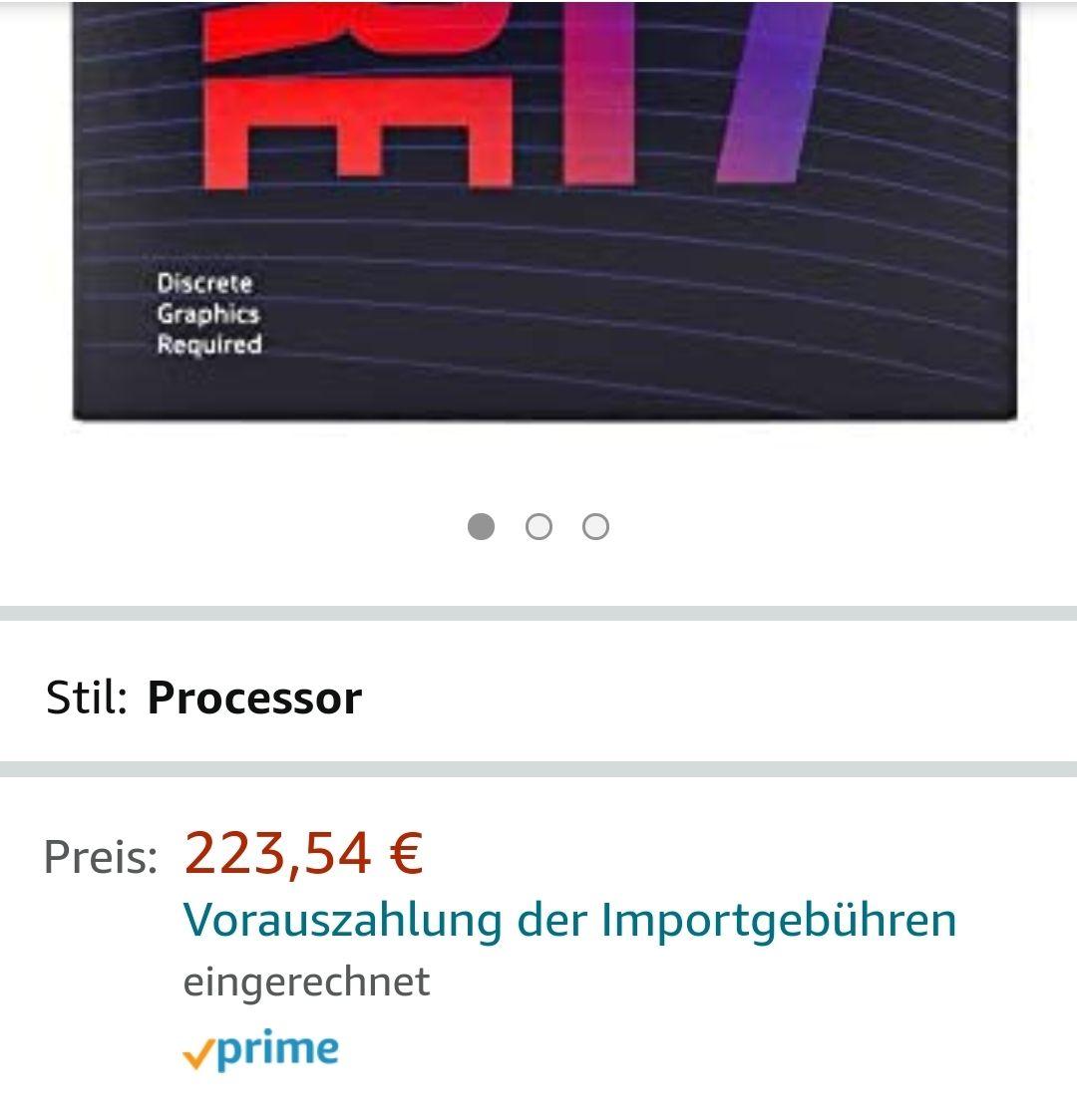 INTEL Core i7-9700F 8Core bis 4,7GHz ohne Prozessor Graphics LGA1151 300 Series 65W
