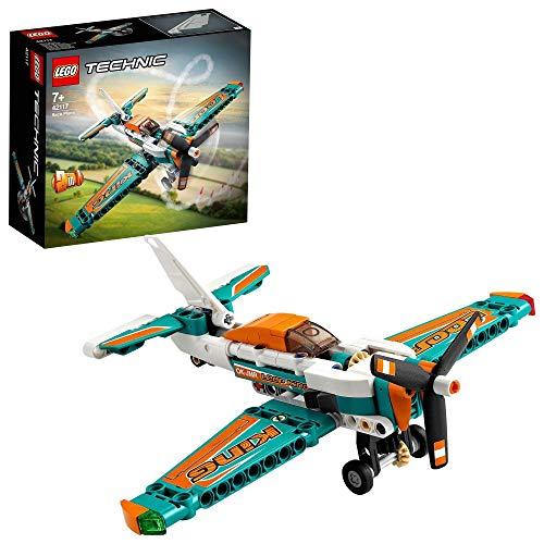 LEGO 42117 Technic Rennflugzeug oder Jetflugzeug 2-in-1 Spielzeug [Amazon Prime]