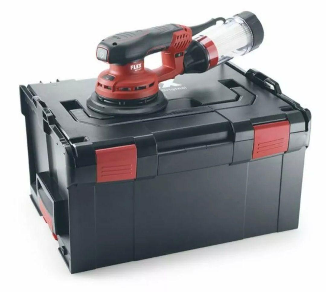 Flex Exzenterschleifer ORE 3-150 EC Set in L-Boxx.