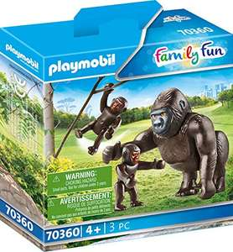 PLAYMOBIL 70360 Gorilla mit Babys - Prime