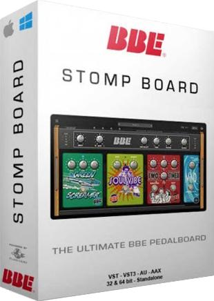[VST] BBE Stomp Board (Gitarreneffekt-Plugin)