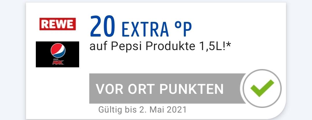 [REWE+PAYBACK] 20 Extra Payback Punkte auf Pepsi und co.