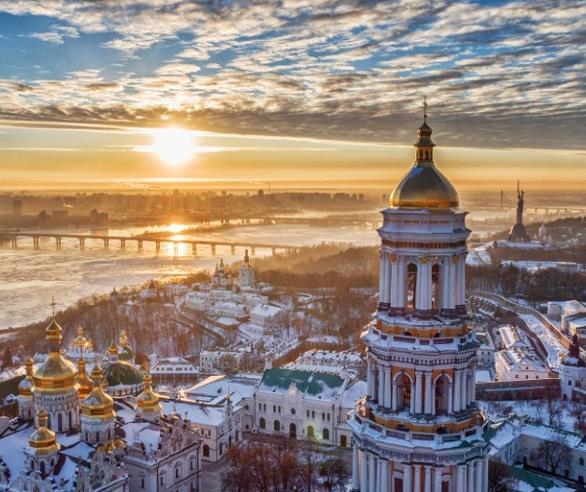 Flüge: Kiew / Ukraine (bis März 2022) Nonstop Hin- und Rückflug mit UIA von Berlin für 58€