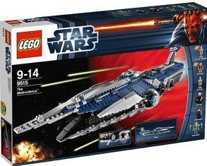 [Amazon.co.uk] LEGO 9515 Malevolence € 74,79, LEGO 9500 Sith Fury-Class Interceptor € 60,96 inkl. VSK