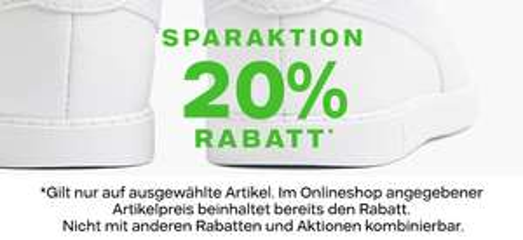 20% bei Deichmann auf bestimmte Sneaker