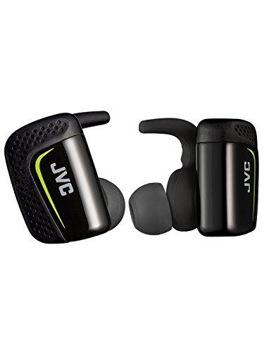 [Prime] JVC HA-ET90BT-BE Truly Wireless Bluetooth Sportkopfhörer inklusive Ladebox schwarz