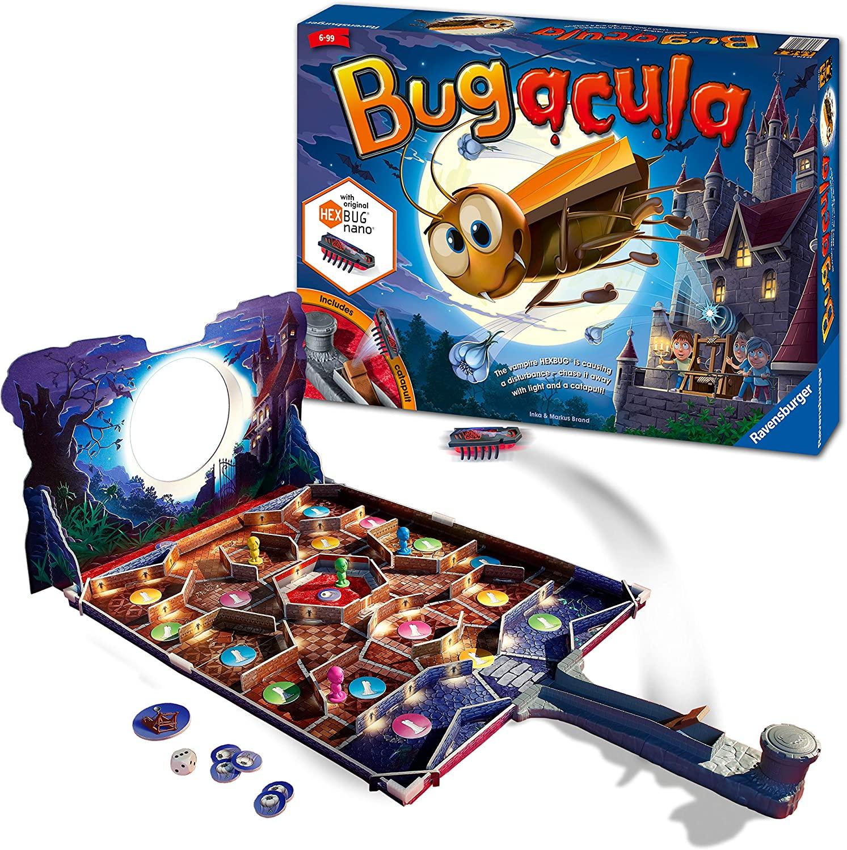 [Prime] Ravensburger 20540 Bugacula (englische Version von Kakerlacula), für 2-4 Spieler, ab 6 Jahren
