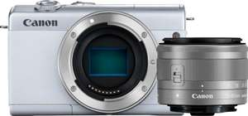Canon EOS M200 Systemkamera + EF-M 15-45mm F3.5-6.3 IS STM Objektiv