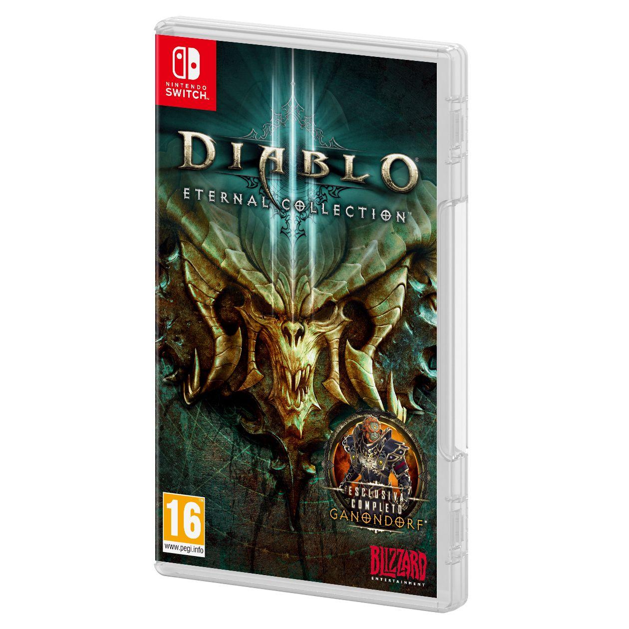 Diablo 3: Eternal Collection Switch Cover nicht deutsch