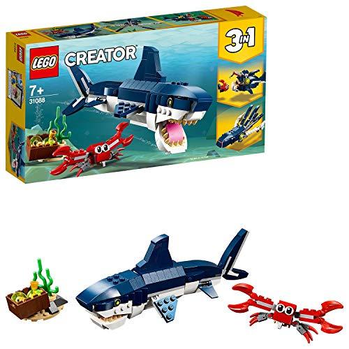 (Amazon Prime) Lego Creator 3-in-1 31088 Bewohner der Tiefsee (UVP - 49%)