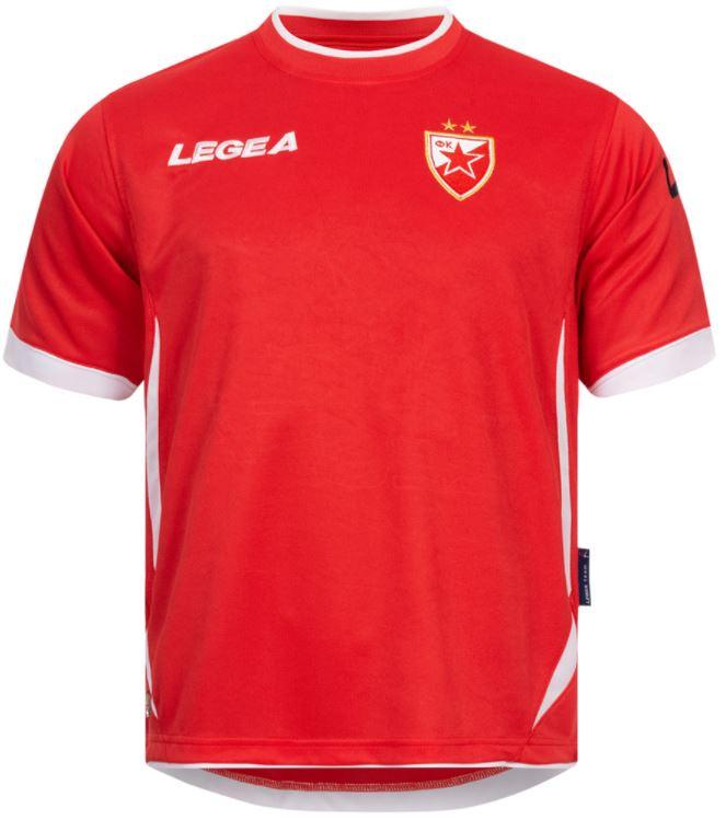 Legea Trikots und Trikot-Sets, zB.: Roter Stern Belgrad Trainingstrikot oder Albanien Trikot-Set