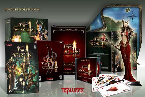 [PC] Two Worlds 2 Royal Edition ( mit z.B.  25 cm großen Figur der Drachenkönigin) bei Amazon.de , ebenfalls günstig die Premium Edition