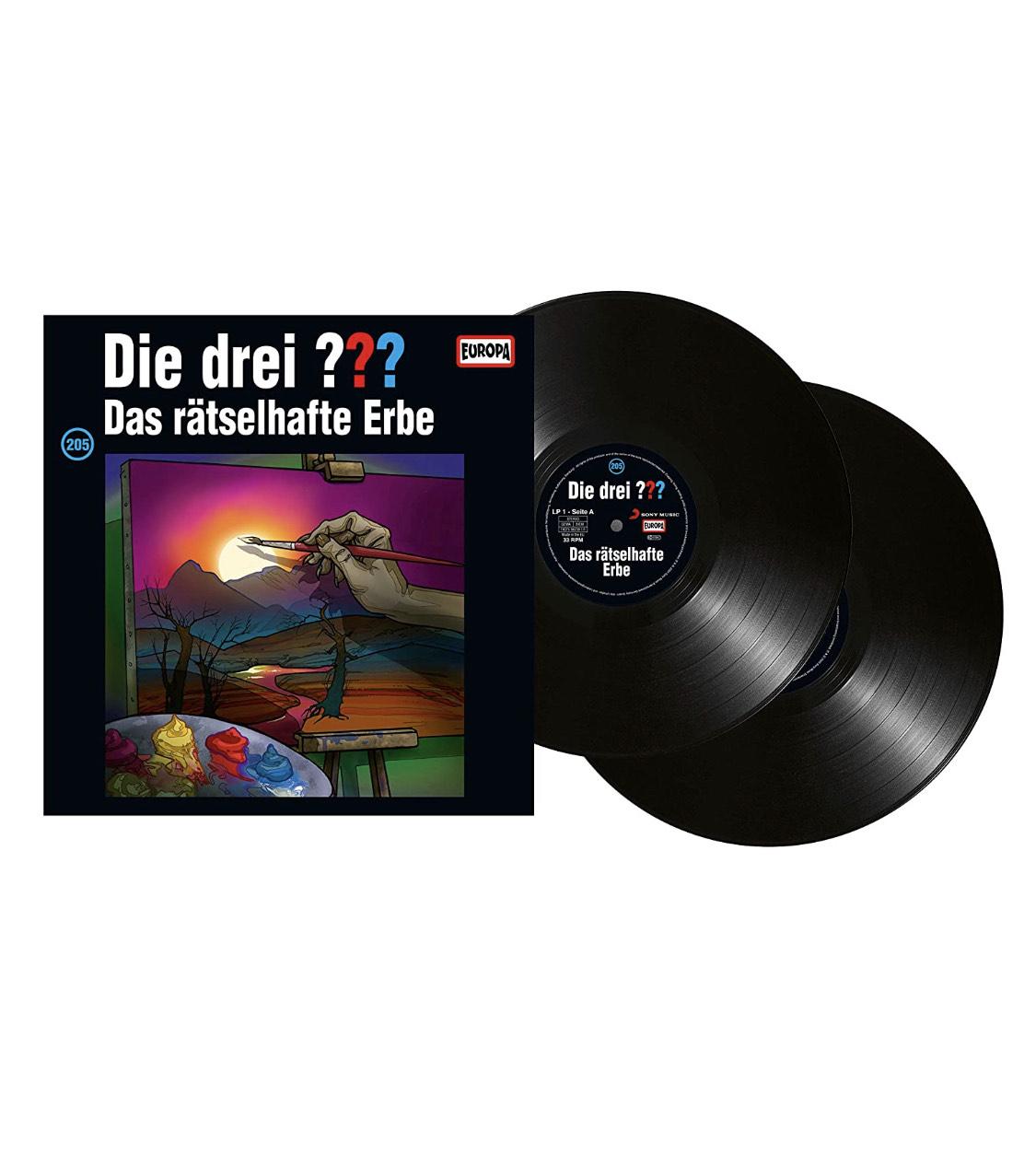 (Prime) Die Drei Fragezeichen - 205/Das Rätselhafte Erbe [Vinyl LP]