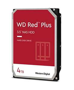Western Digital WD Red Plus 4TB 128MB 3.5 Zoll (WD40EFZX)