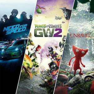 EA Family-Bundle: Need For Speed + Plants vs Zombies GW2 + Unravel (PS4) für 5,99€ / 3.99€ mit PS+ (PSN Store)
