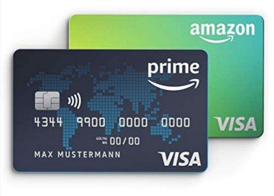 500 Amazon Punkte / 5€ beim kontaktlosen, lokalen bezahlen mit der Amazon Visa Karte erhalten! / personalisiert