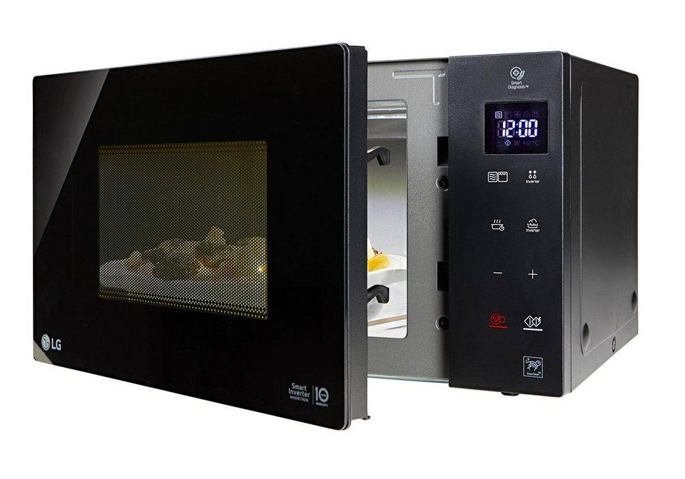 LG MH 6535 GIS Mikrowelle mit Grill (1000 Watt) 99,99€ mit Cashback (oder noch weniger!)