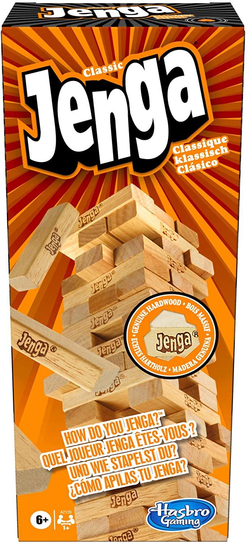 [Prime] Hasbro A2120EU4 - Jenga Classic, Geschicklichkeitsspiel, ab 6 Jahren