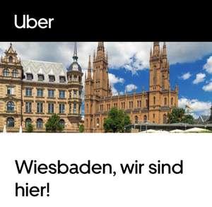 Uber [Mainz & Wiesbaden] Gutscheincode / 3 Fahrten mit jeweils 5€ Rabatt