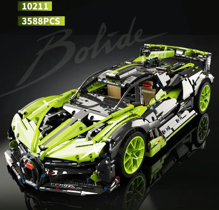 KBOX 10211 Bugatti Bolide / Maßstab 1:8 / 3588 Klemmbausteine / inkl. OVP: 104,49 EUR