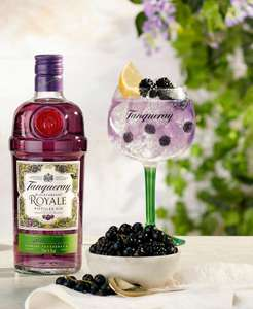 GQ Miniabo + Tanqueray Gin Set Blackcurrant Royale