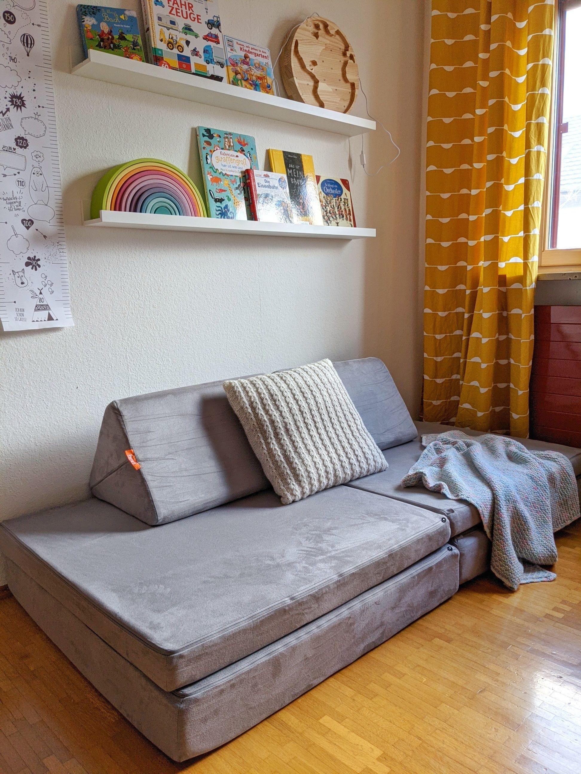 Kindermöbel: FURNY - das modulare Spielsofa für Kinder