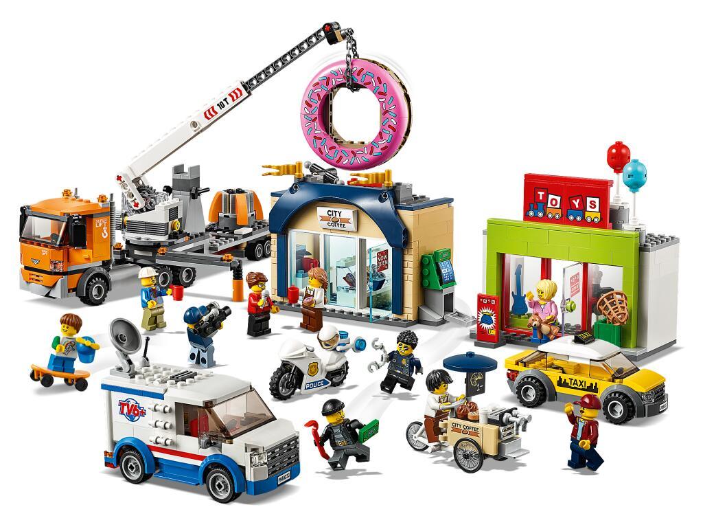 LEGO City Town 60233 Große Donut-Shop-Eröffnung für 51,19€