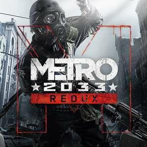 Metro 2033 Redux / Metro: Last Light Redux (Switch) für je 9.99€ (eShop)