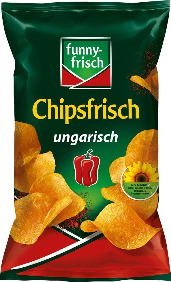 [Kaufland regional (ehemals Real Filialen)] funny frisch Chipsfrisch verschiedene Sorten je 175g ab 23.04. für nur 0,79€