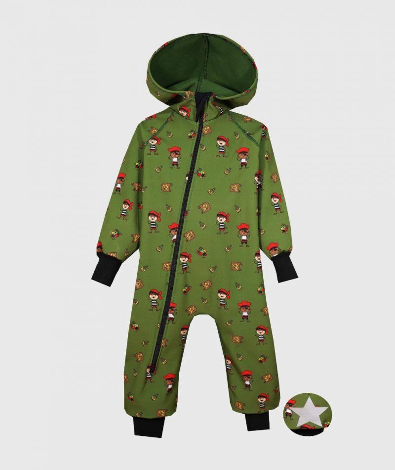 Softshell Coverall für die Kids 8 monate - 8 jahre bei dem unberechenbaren Wetter sollten die Kleinen gut ausgerüstet sein