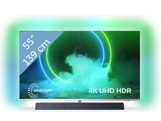 "[iBood] Philips 4K UHD 55"" Android Smart-TV | B&W-Sound | 3-seitiges Ambilight | 55PUS9435/12 für 857,90€ inkl. Versand"