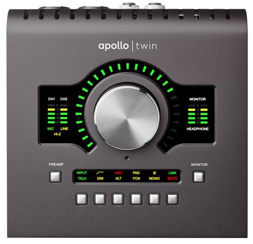 Universal Audio Apollo Twin Duo MKII Heritage Edition - Die perfekte Ergänzung für euer Lautsprecher-Setup und Studiomonitore
