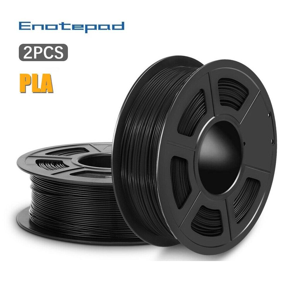 3D Drucker Filament | Enotepad PLA 13,82 bzw. 12,57 pro Rolle (2er/4er Packs) | versch. Farben | Aliexpress