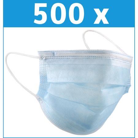 Mundschutzmasken Vlies 500 Masken 3-lagig (3 Cent pro Maske)!!!