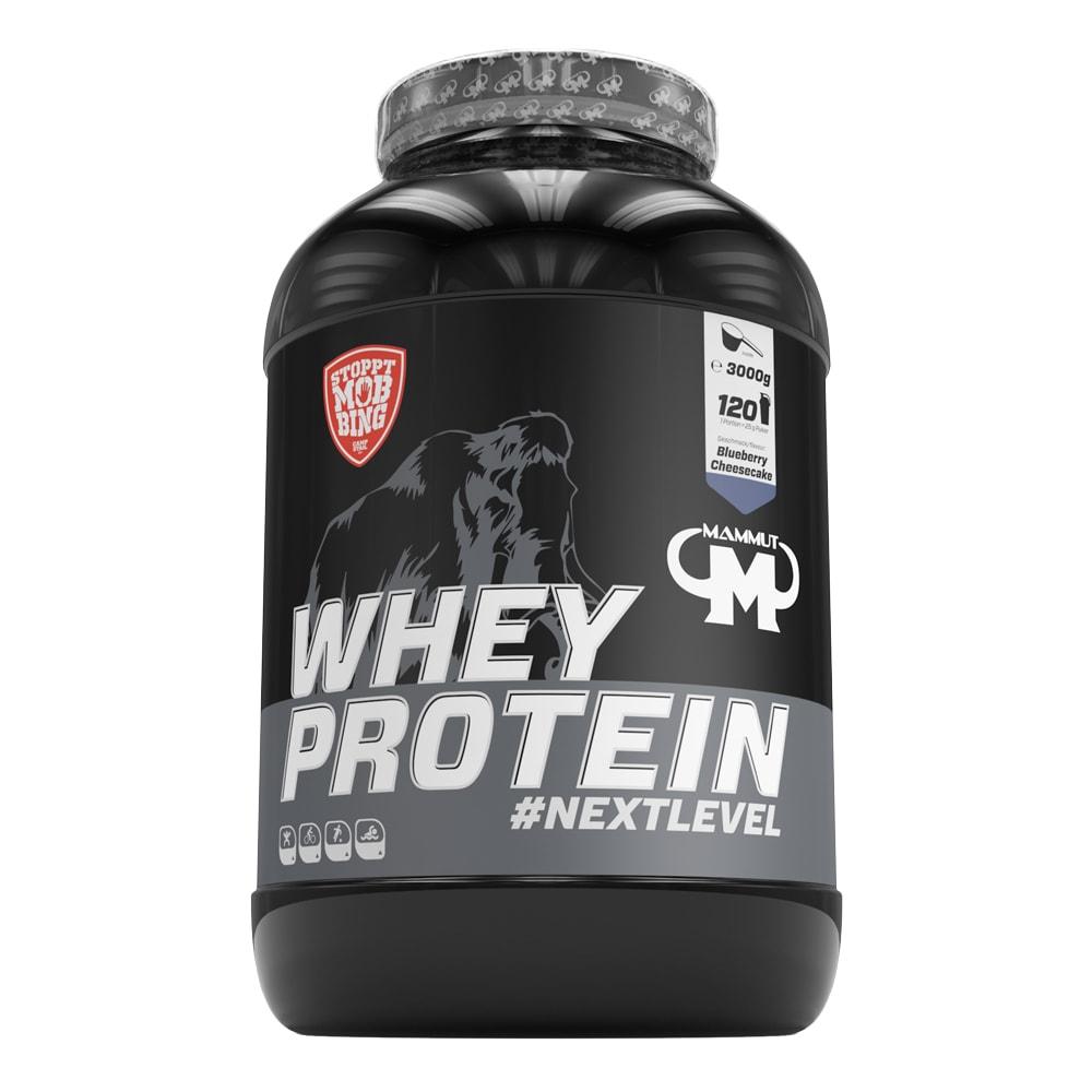 Whey-Sammeldeal: z.B. 3kg Mammut Whey Protein   außerdem Stack2, Body Attack, Mutant, Mammut, Scitec, Bodylab, Dymatize & BioTechUSA