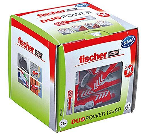 Fischer Duopower Dübel 12 x 60 25 Stück (538253)