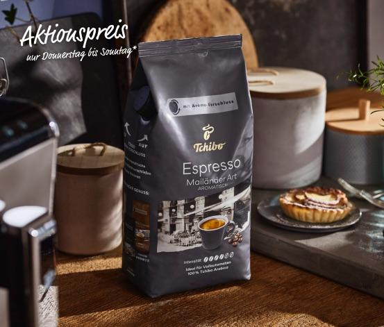 Tchibo Espresso Mailänder Art - 1 kg Ganze Bohne