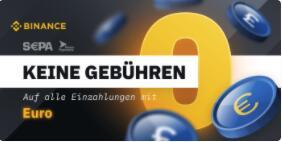 Binanz zieht Euro-Gebuhr ab
