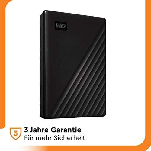 WD My Passport 5 TB externe Festplatte ODER bei MediaMarkt mit NW-Gutschein