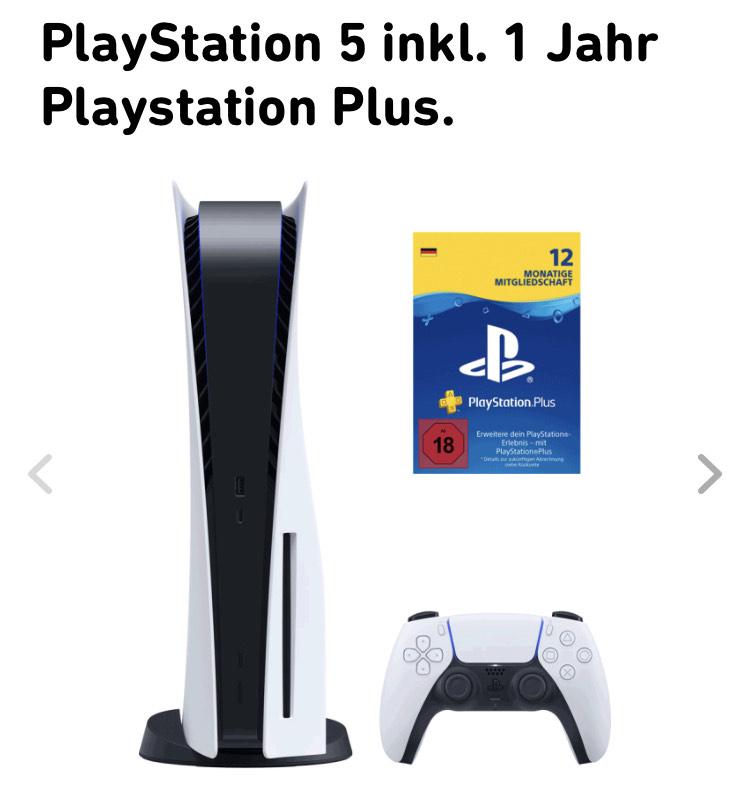 PlayStation 5 mit (18mon.) Stromvertrag